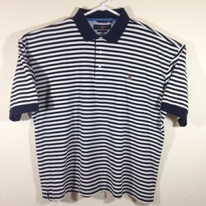 Vintage 90s Tommy Hilfiger Golf Polo Striped Shirt